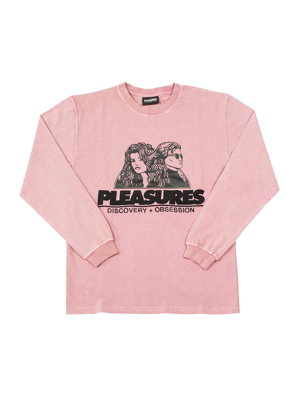 Pink Discovery Heavy Weight Washed T-Shirt