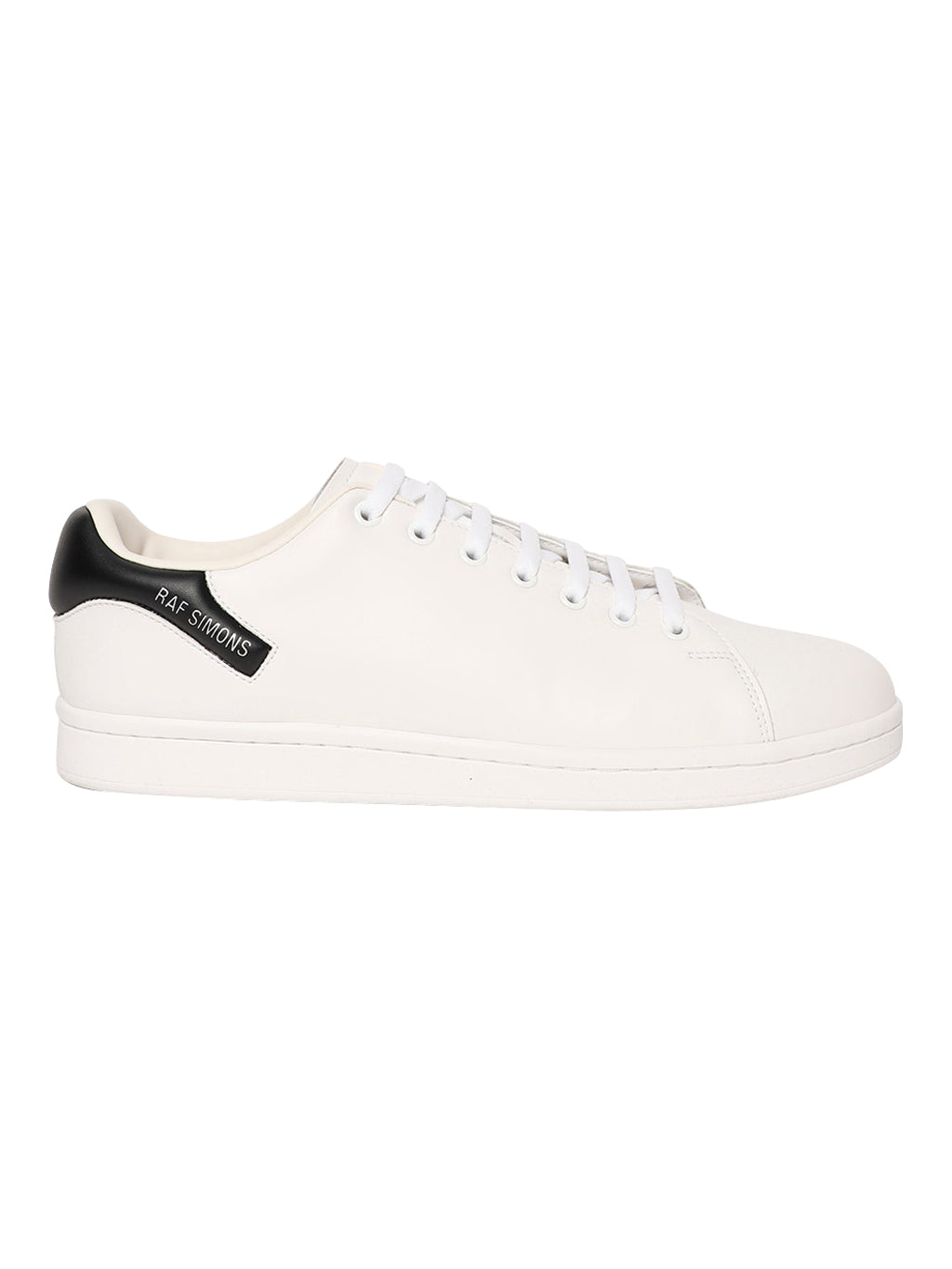 White & Black Orion Low Top Sneakers