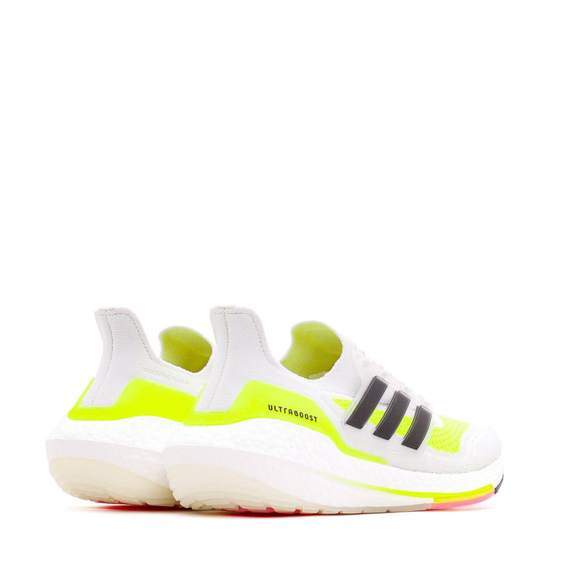 White Ultraboost 21 Running Shoes