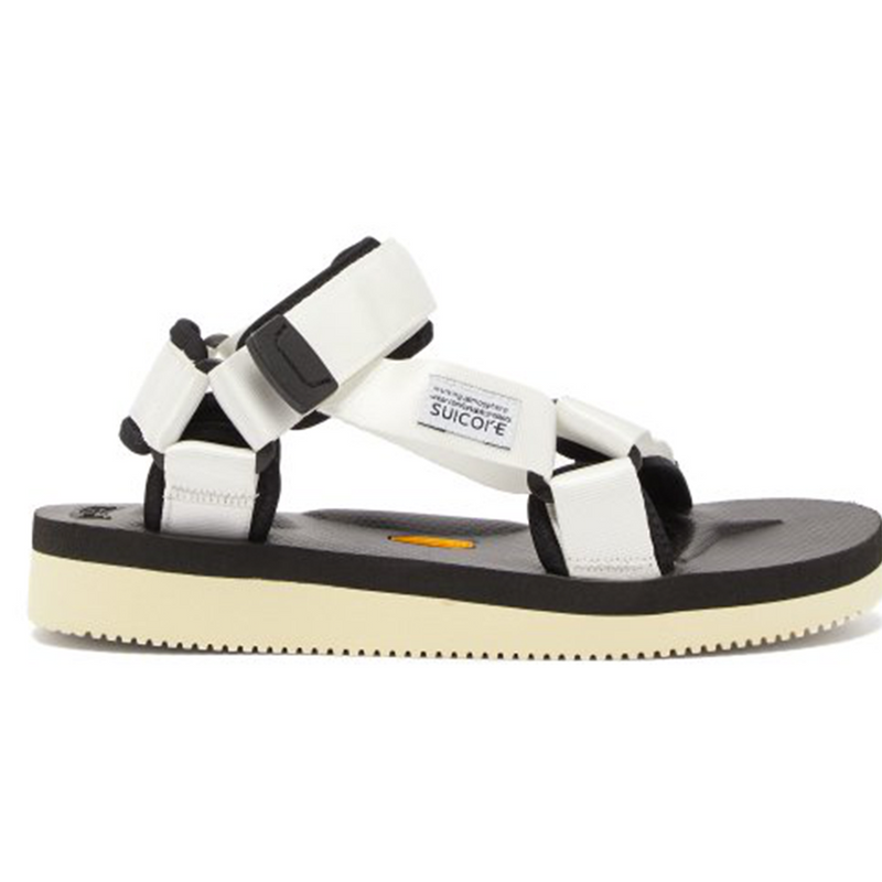 White Detailed DEPA-V2 Sandals