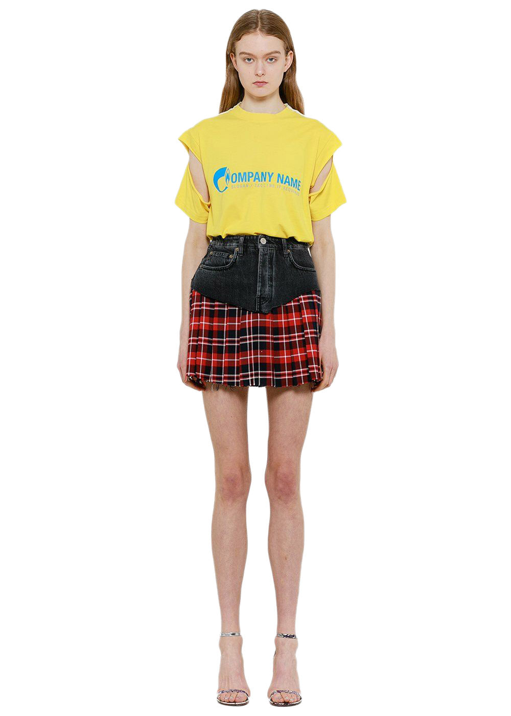 Black Pleated School Girl Skirt