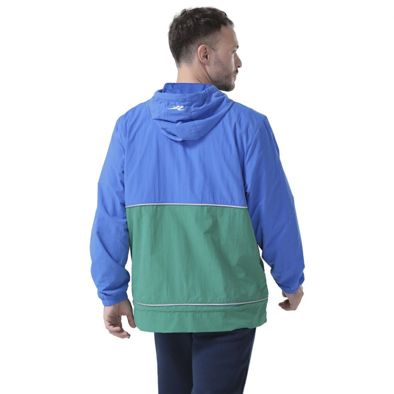 Blue & Green Pleasures Classics Anorak