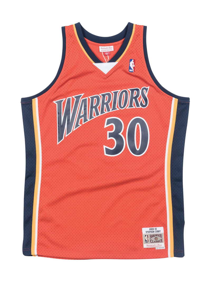 Orange NBA Golden State Warriors Swingman Stephen Curry Jersey