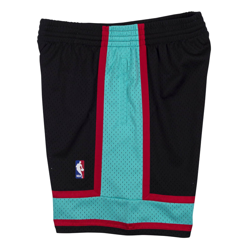 Black NBA Swingman Vancouver Grizzlies Shorts