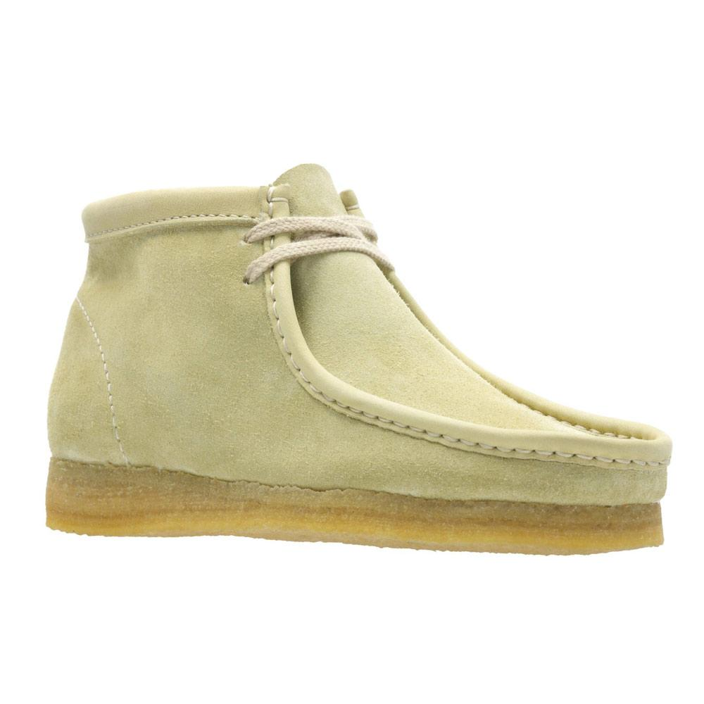 Maple Suede Wallabee Boots