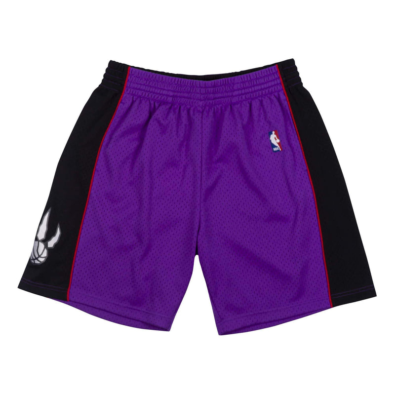 Purple NBA Toronto Raptors 1999 Swingman Shorts