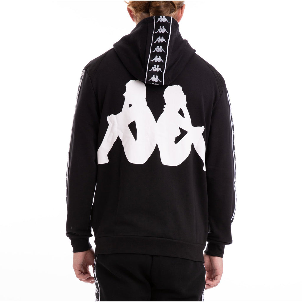 Black & White Authentic Bray Fleece Hoodie