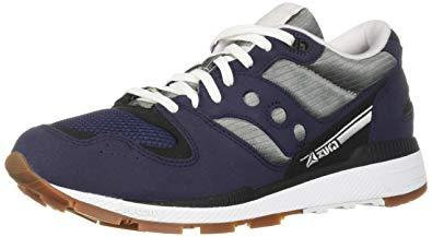 Navy & Grey Azura Sneakers