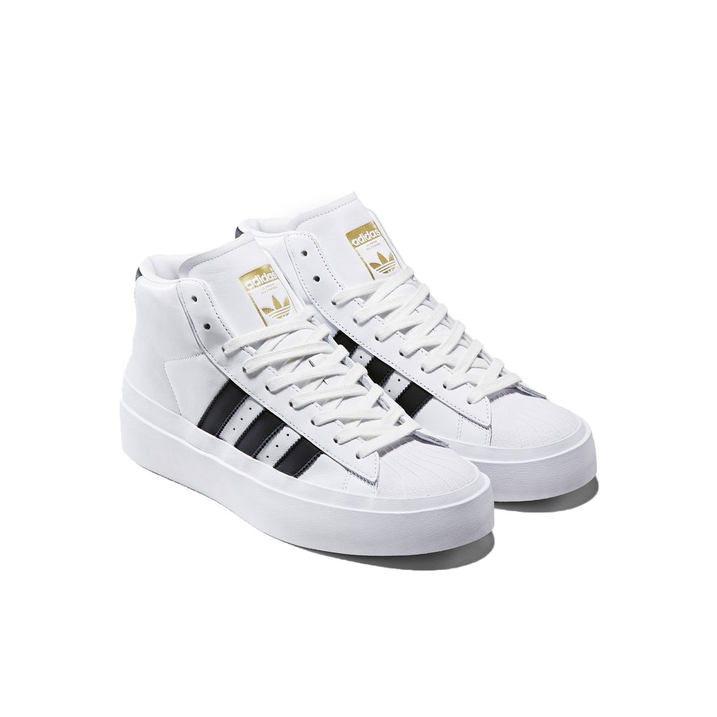 Black & White ProModel Sneakers