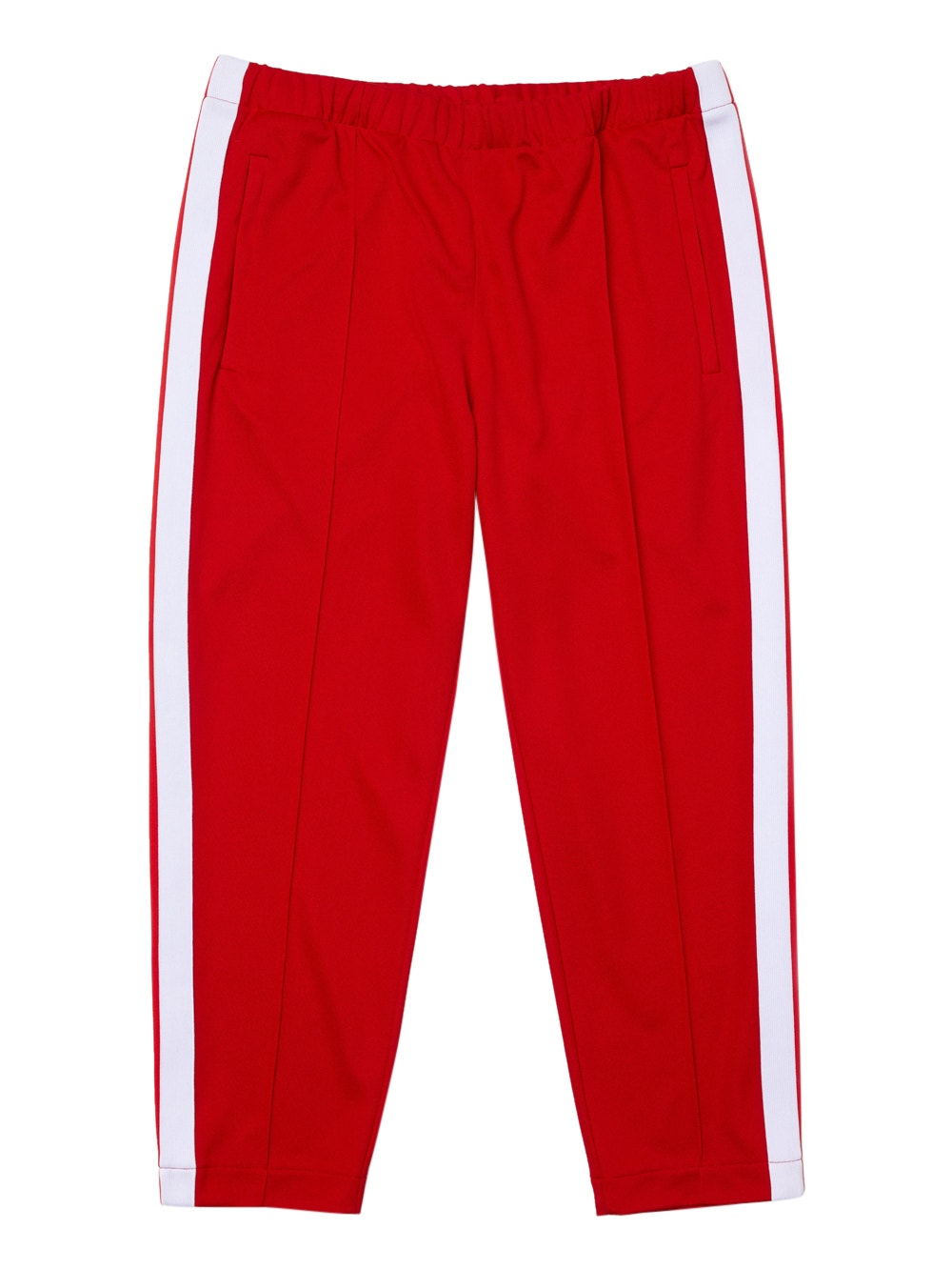 Red x Ricky Regal Contrast Bands Piqué Pants
