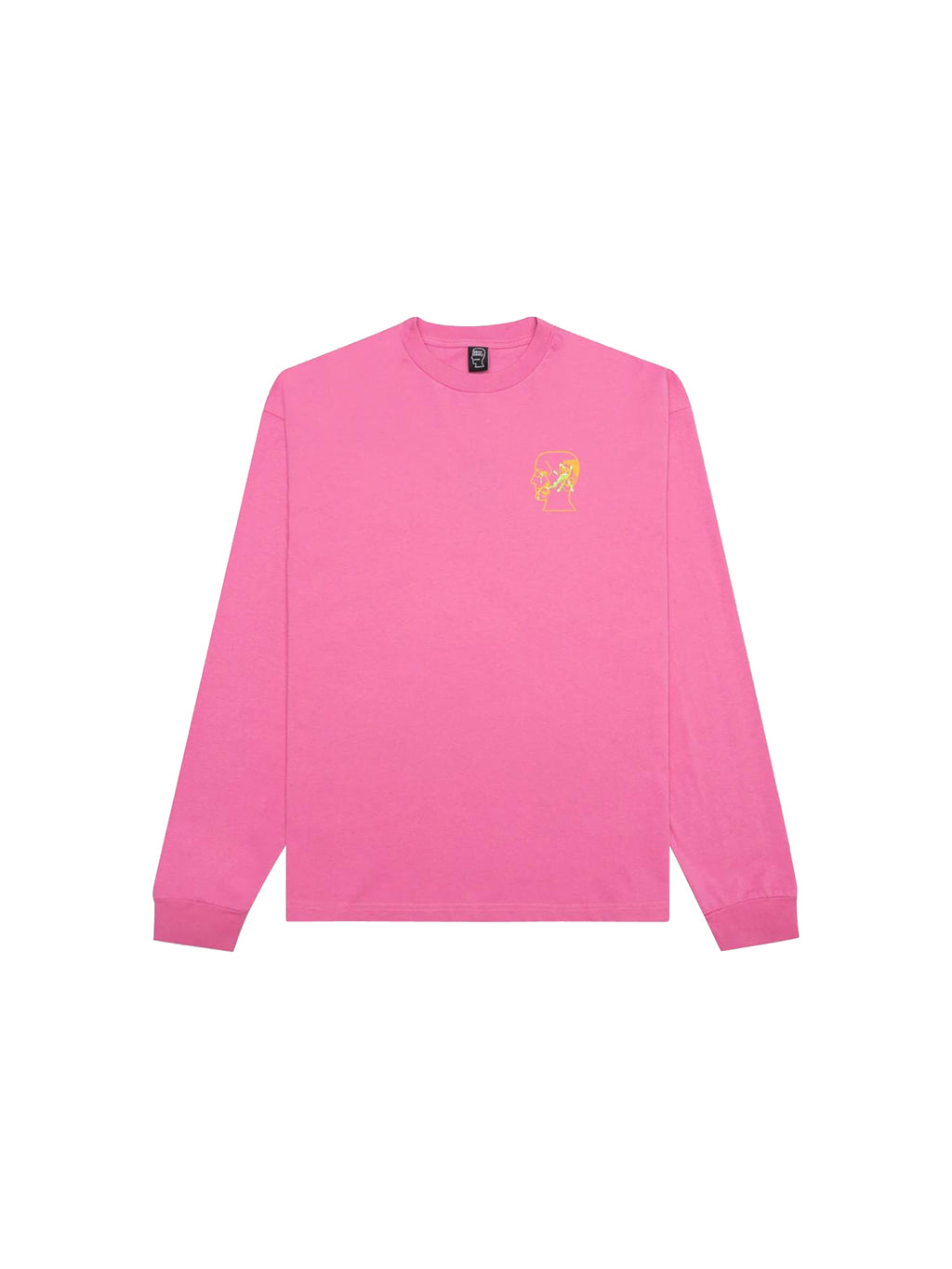 Washed Pink Goop Long Sleeve T-Shirt