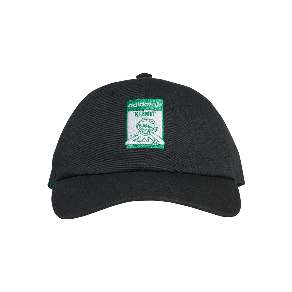 Black and Green Not Easy Kermit Cap