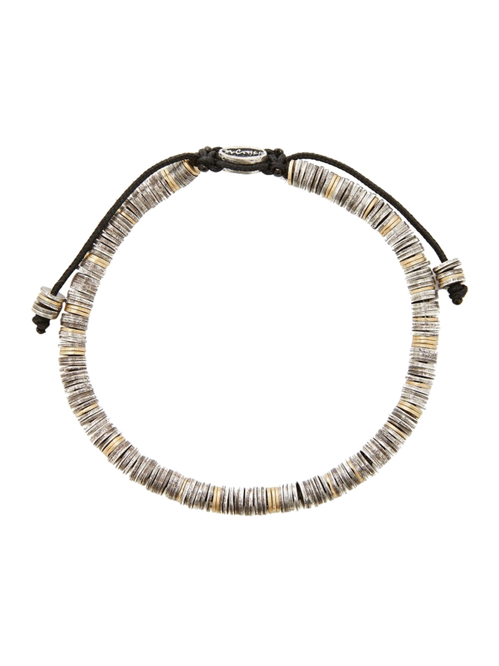 Silver & Gold Mini Disc Bracelet