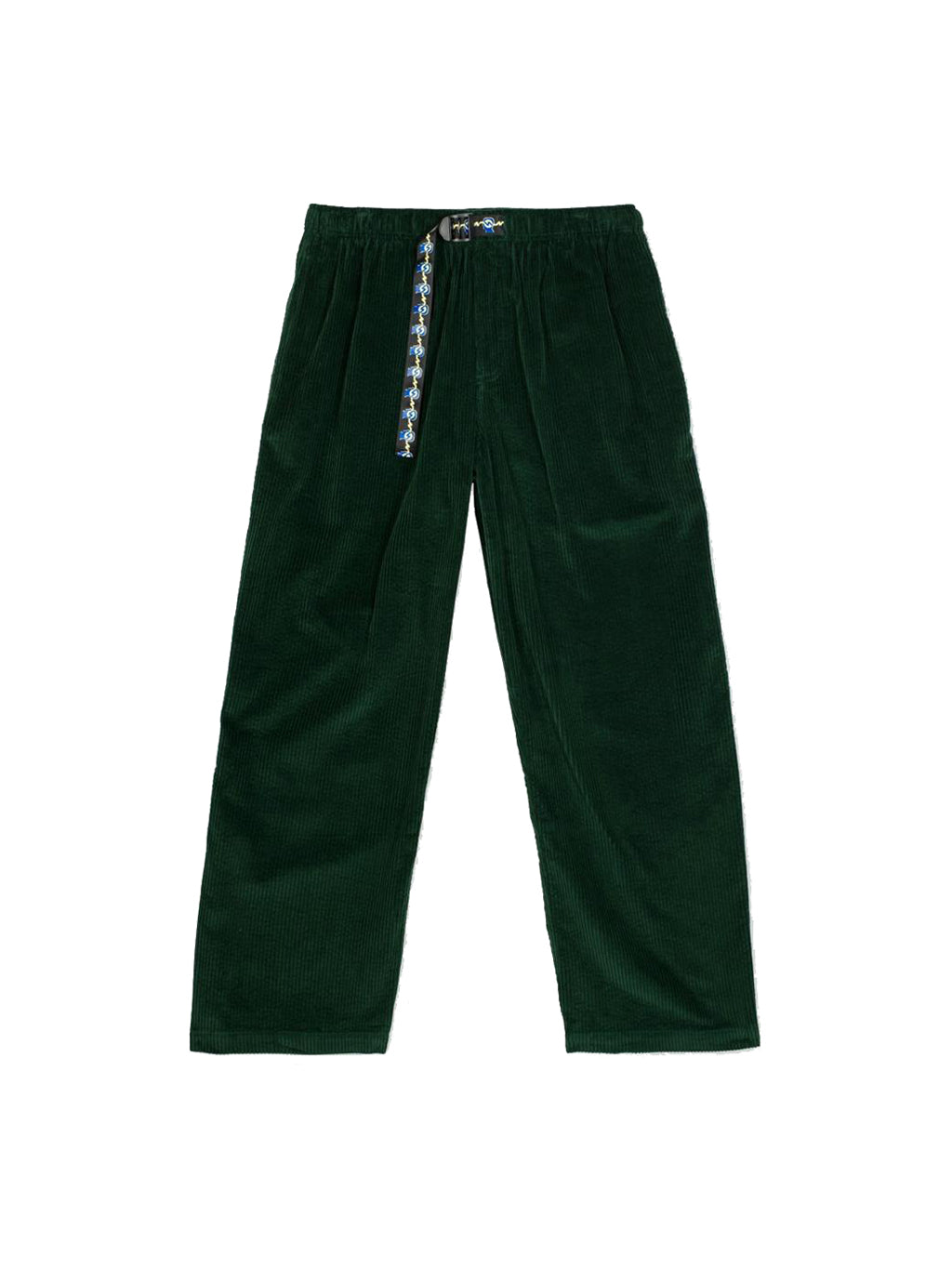 Green Running Head Corduroy Climber Pants