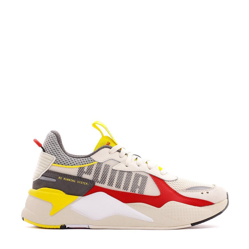 White & Red RS-X Bold Sneakers