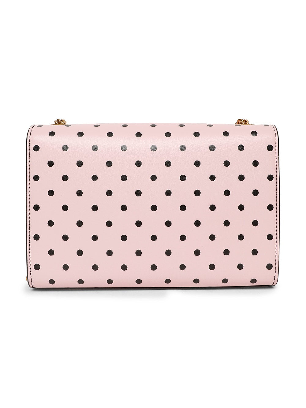 Pink & Black Polka Dot Small Kate Bag