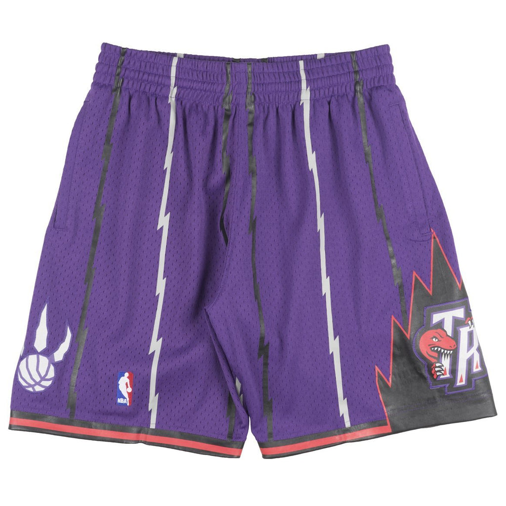 Purple NBA Swingman Toronto Raptors Shorts