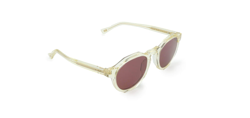 Pink & Ivory Champagne Pinto Sunglasses