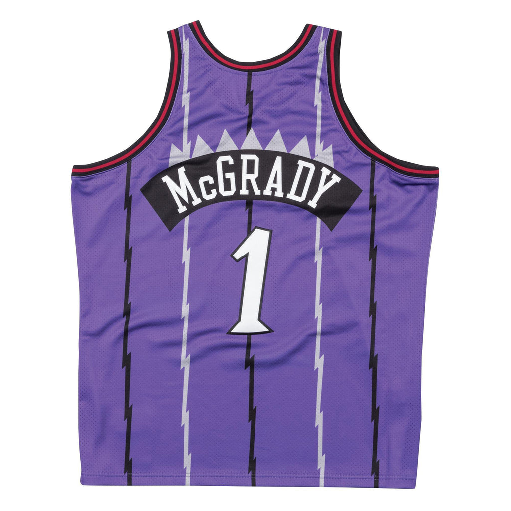 Purple NBA Swingman Toronto Raptors Tracy McGrady Jersey