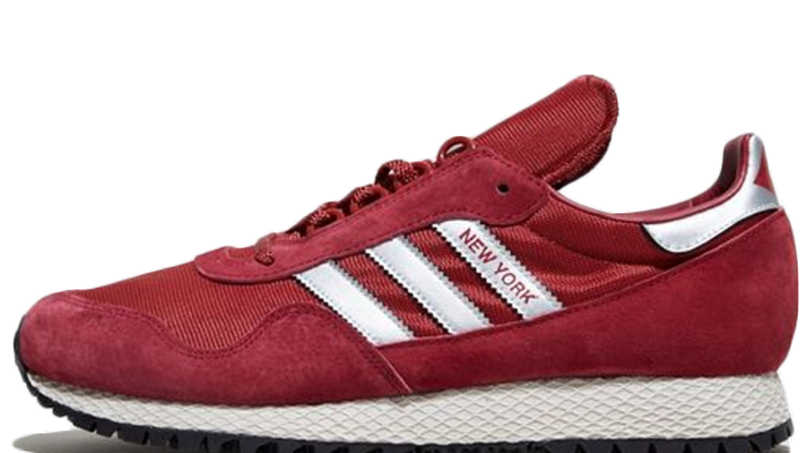 Adidas Red New York Shoes | Complex SHOP