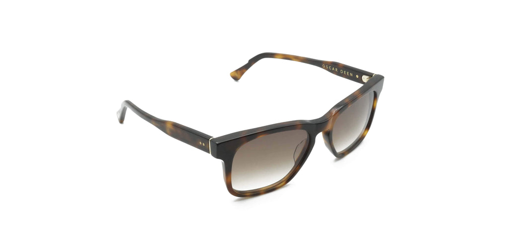 Black & Brown Carril Tortoise Sunglasses
