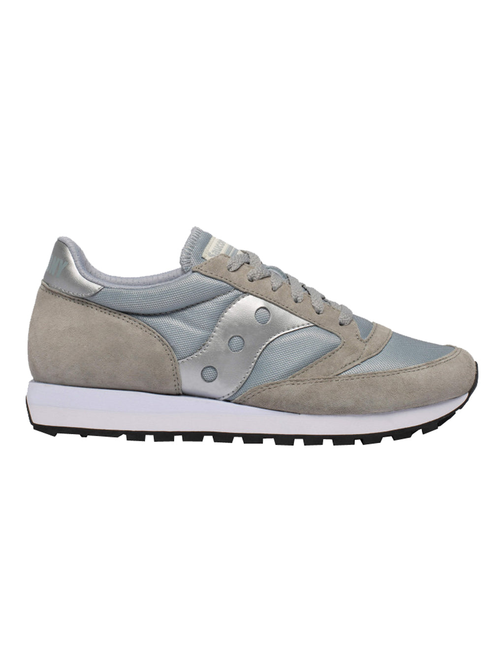 Grey & Silver Saucony Jazz 81 Sneakers
