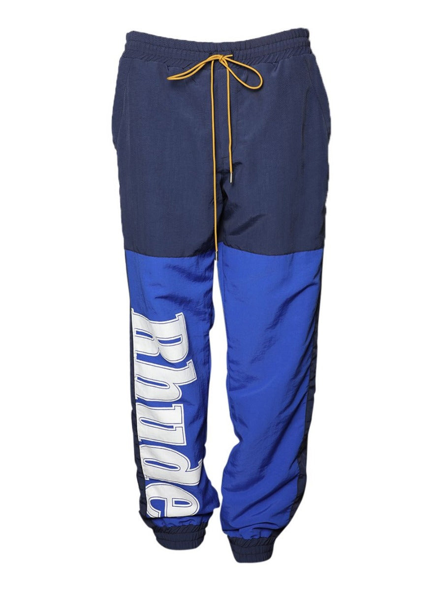 Blue & Navy Logo Flight Pants