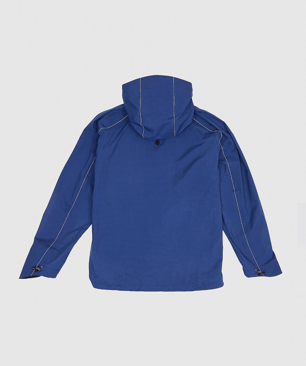 Blue E Vent Dropping Pocket Rain Jacket