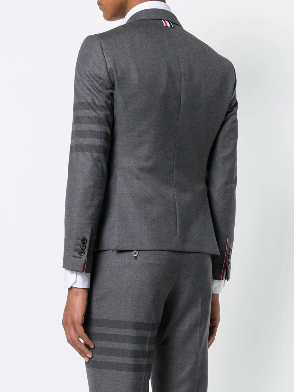 Grey Oven Four Bar High Armhole Sport Coat