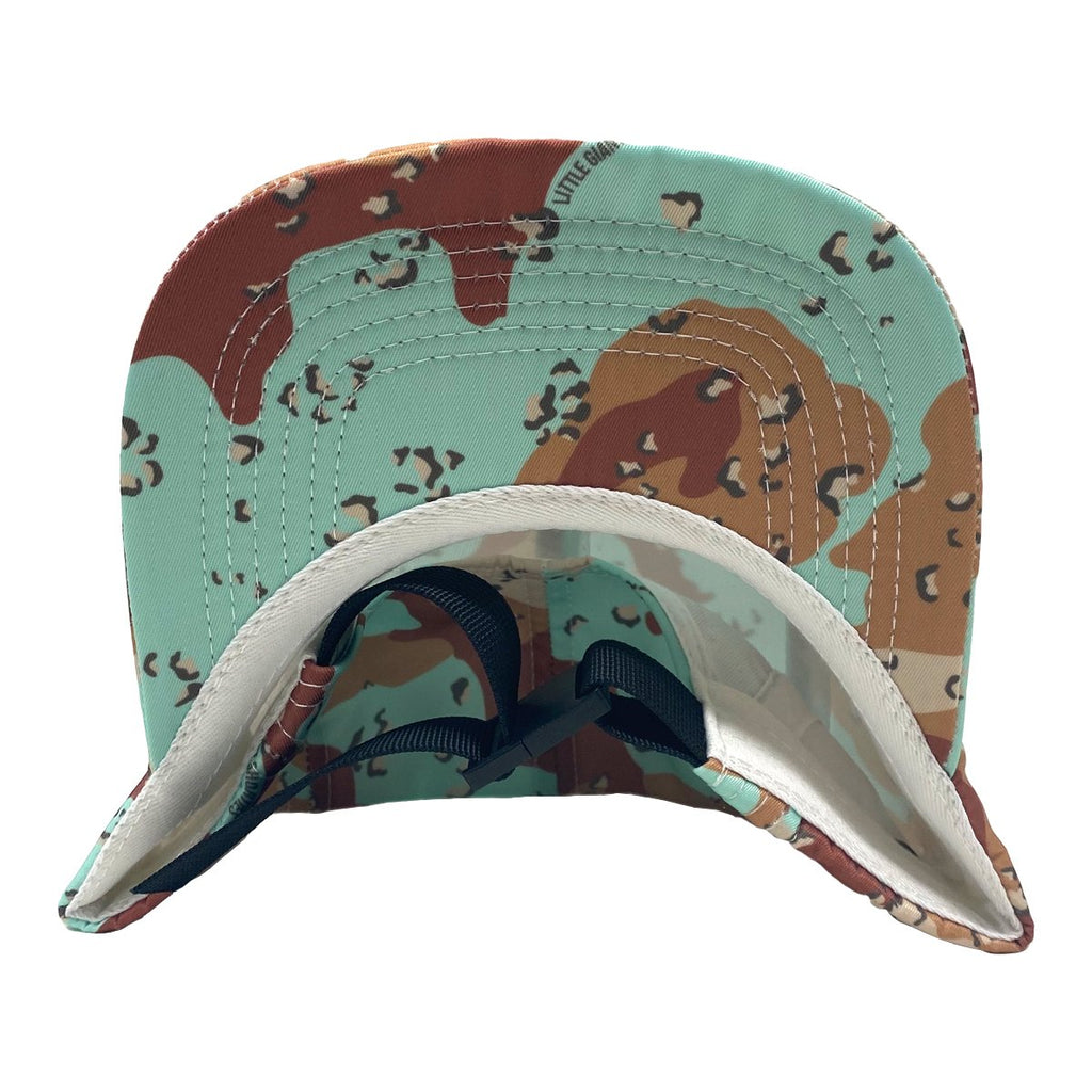 Mint Cookie Camo 5 Panel Hat