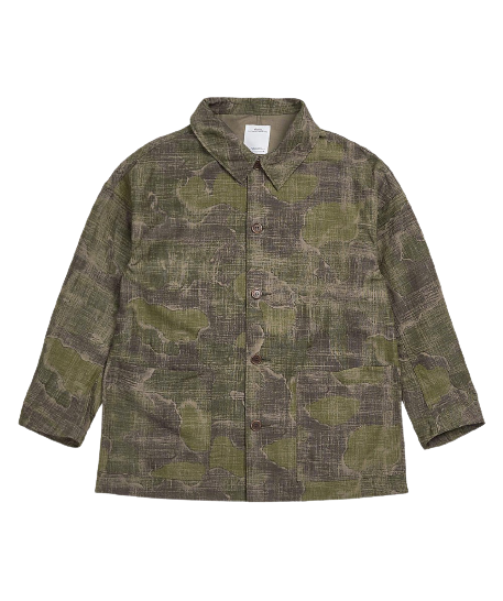 Camo Whiteoak Coverall Jacket