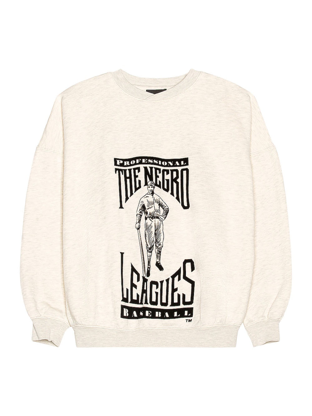 Cream Heather Negro Leagues Tribute Sweatshirt