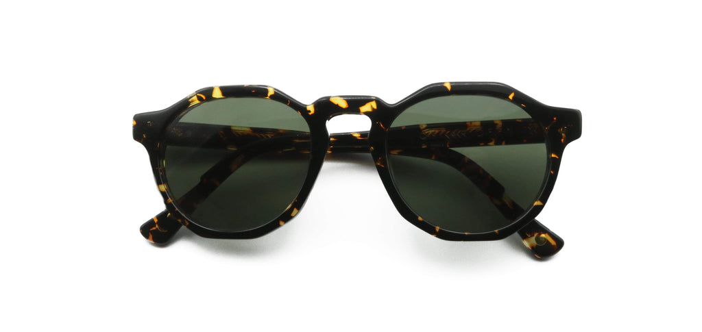 Black & Gold Pinto Ember Sunglasses