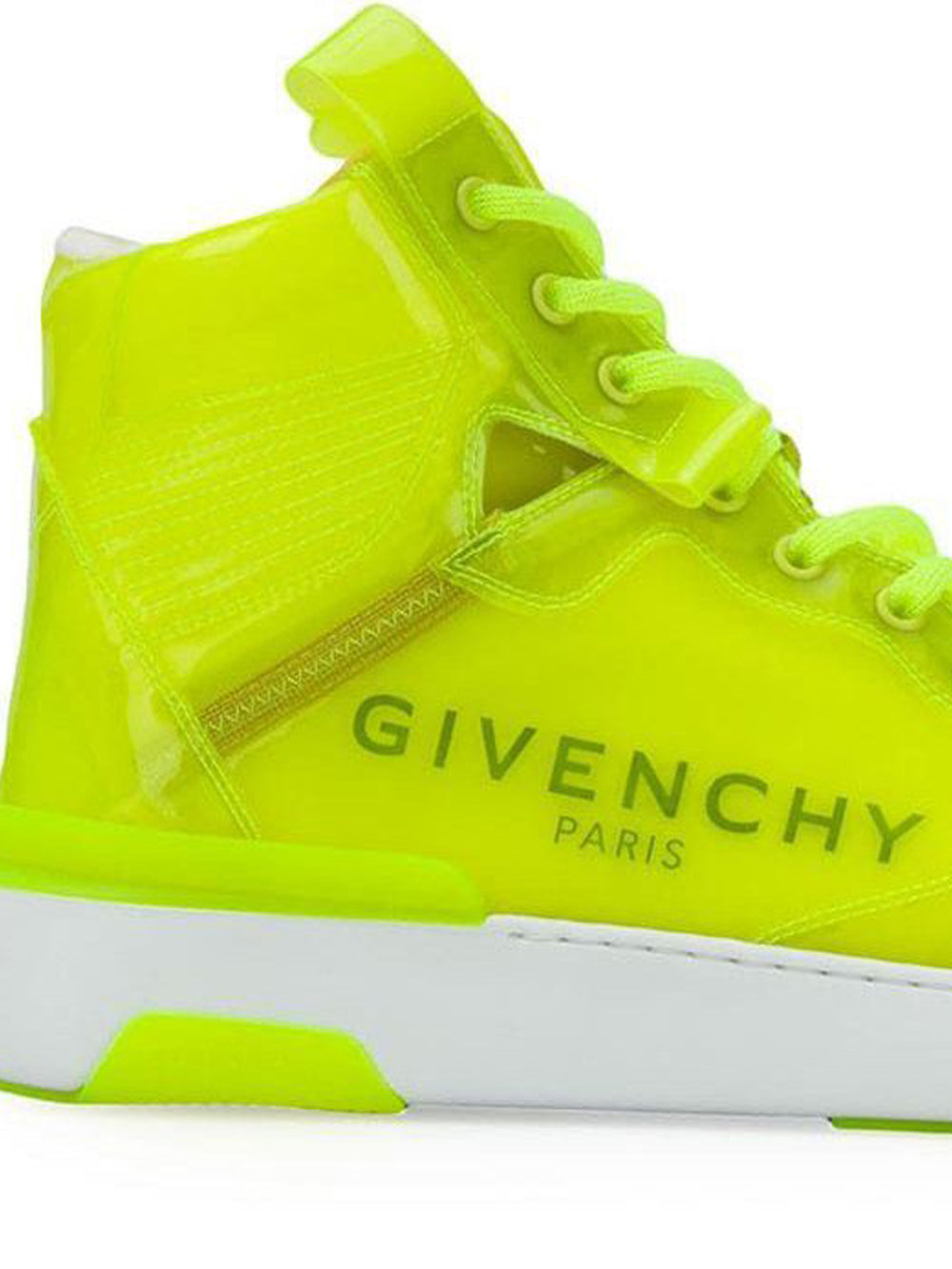 Yellow Wing High Top Sneakers