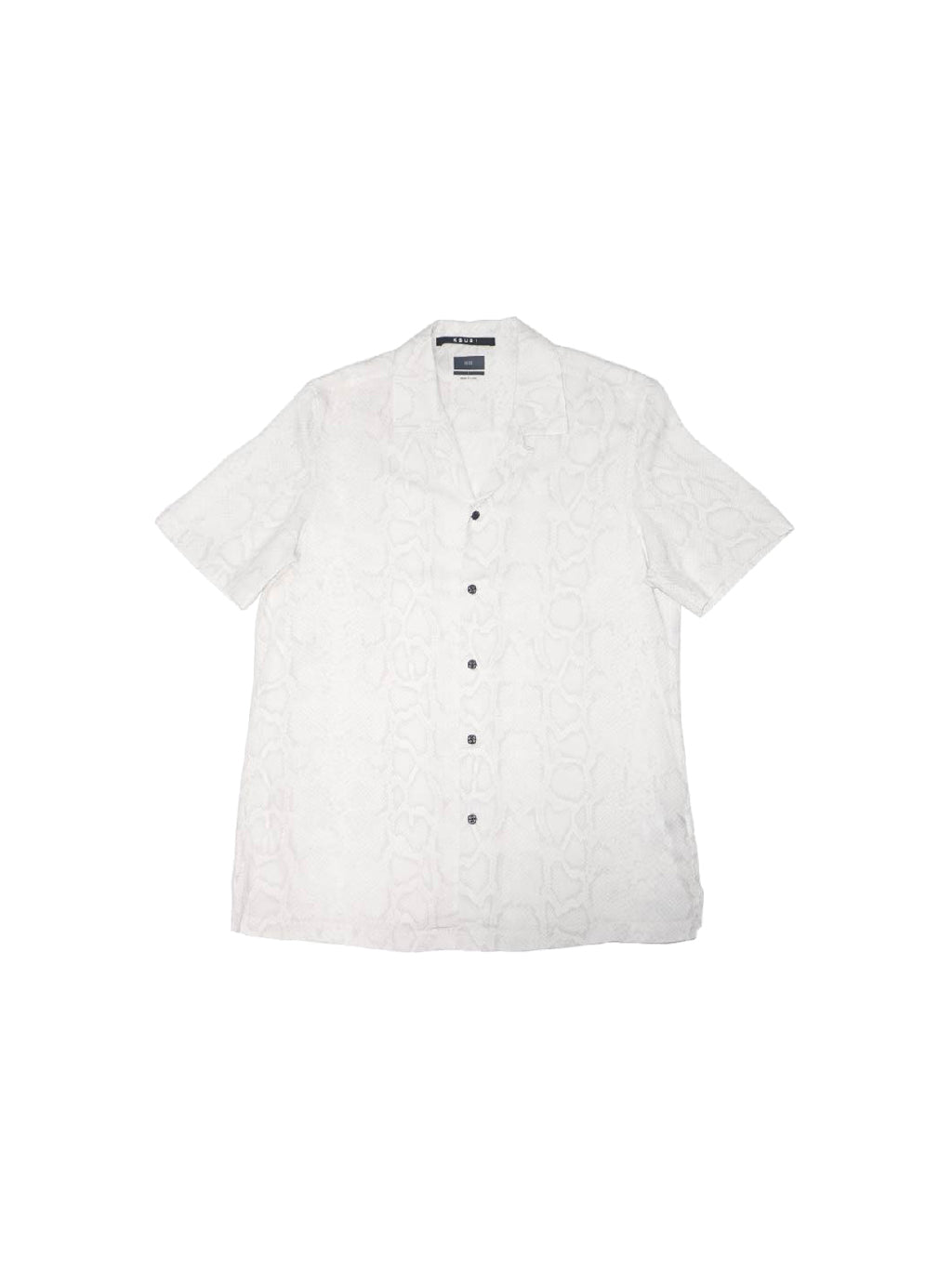 White BOA Resort Shirt