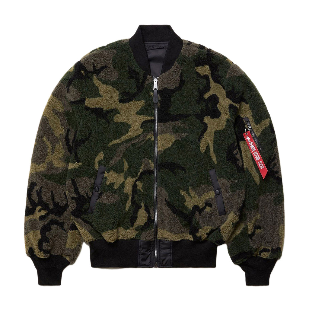 Camo L-2B Sherpa Loose Flight Jacket