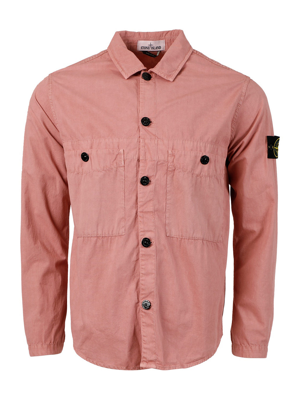 Red Onion and Purple Button Down Overshirt