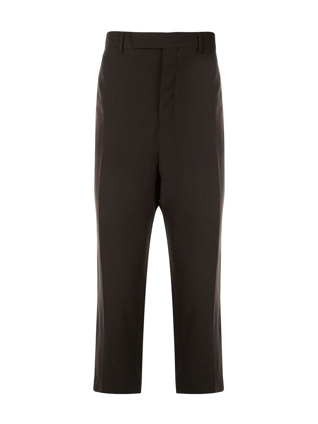 Brown Slim Astaires Cropped Pants