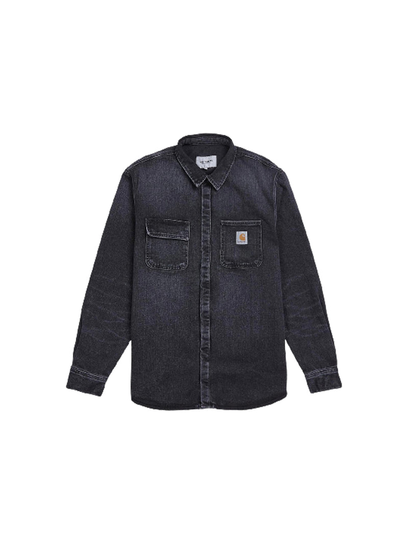 Black Salinac Shirt Jacket