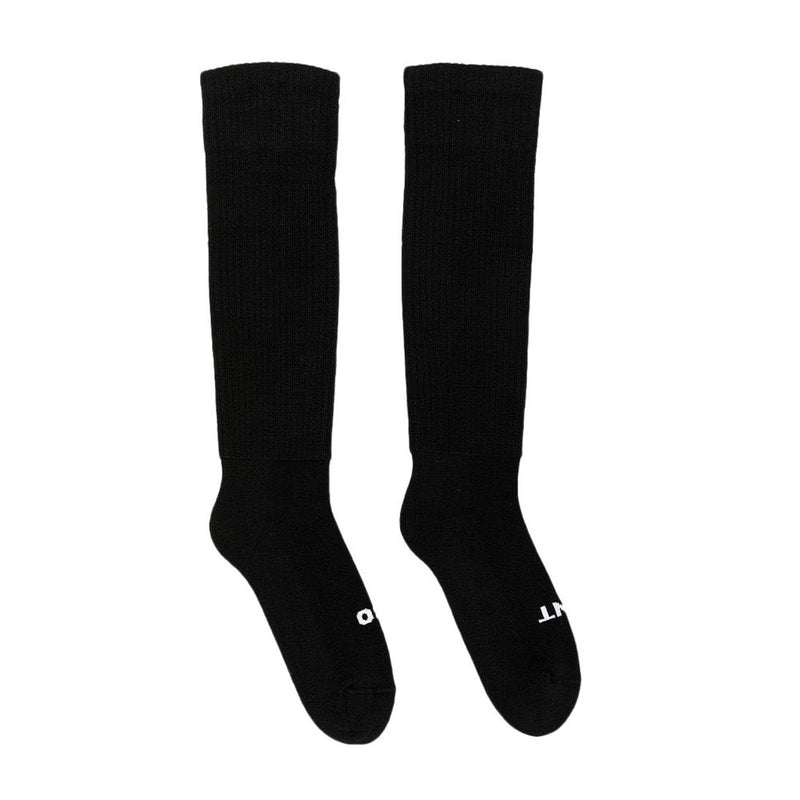 Black Knee-High Socks