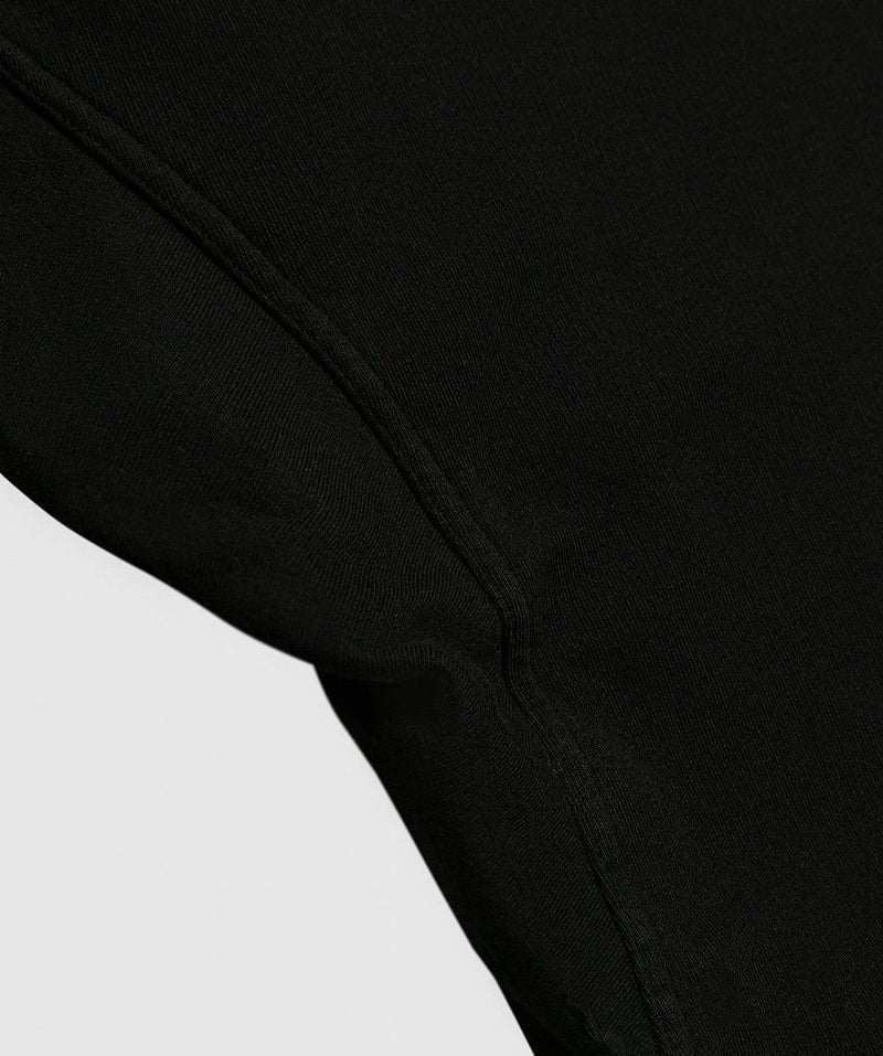 Black Drawstring Cargo Pants