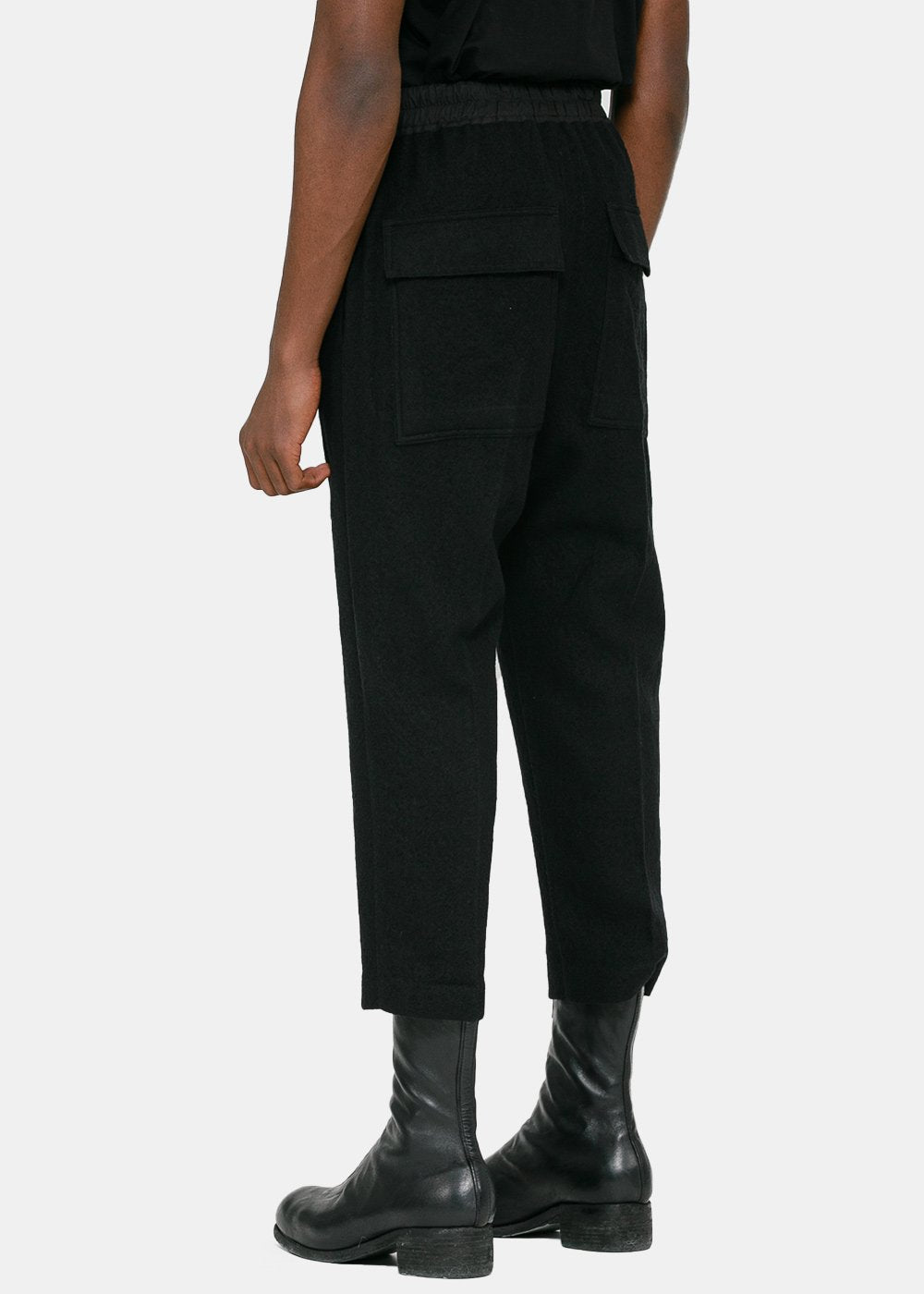 Black Cropped Astaires Pants