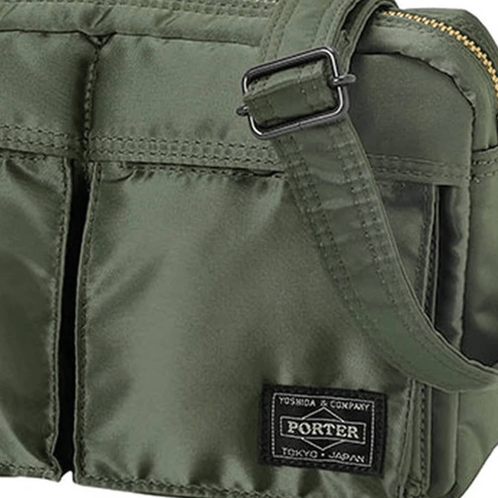 Black or Green Tanker Shoulder Bag
