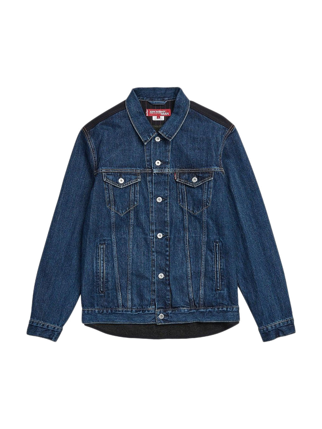 Blue Levis Check Jacket