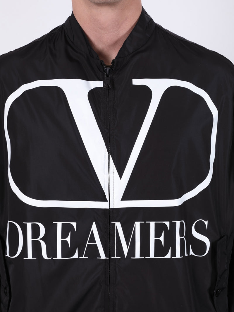 Black & White Dreamers Logo Jacket