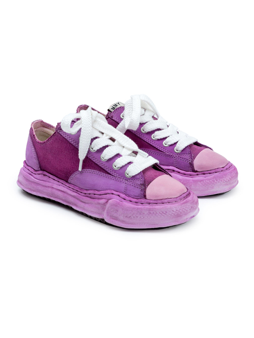 Purple Original Sole Low Cut Sneaker