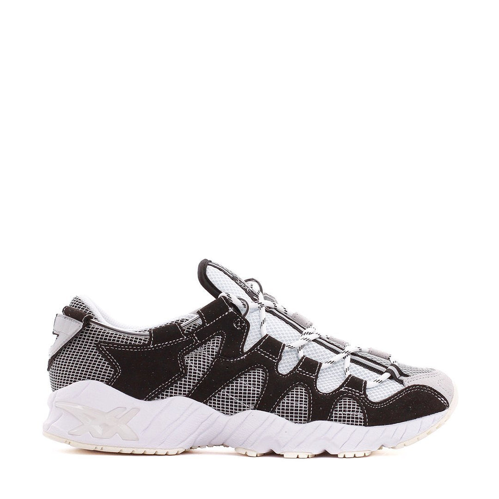Silver & Black United Arrows Gel-Mai Sneakers