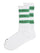 White & Green Adidas X Human Made Striped Socks thumbnail 1