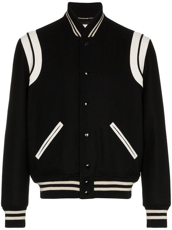 Black & White Teddy Wool Jacket
