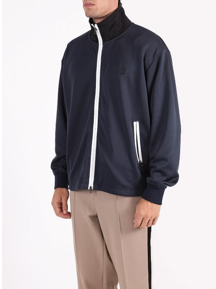 Navy Classic Face Tracksuit Jacket